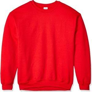 3/$50 Red Crewneck Sweater